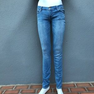 Abercrombie & Fitch Low Rise Skinny Jeans 2 Long